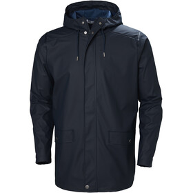 Helly Hansen Moss Rain Coat Herr navy